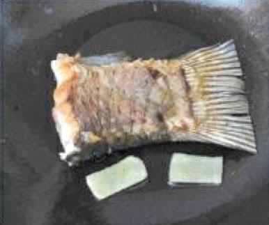 Pawpaw and Peanut Fish Tail Soup Recipe step2