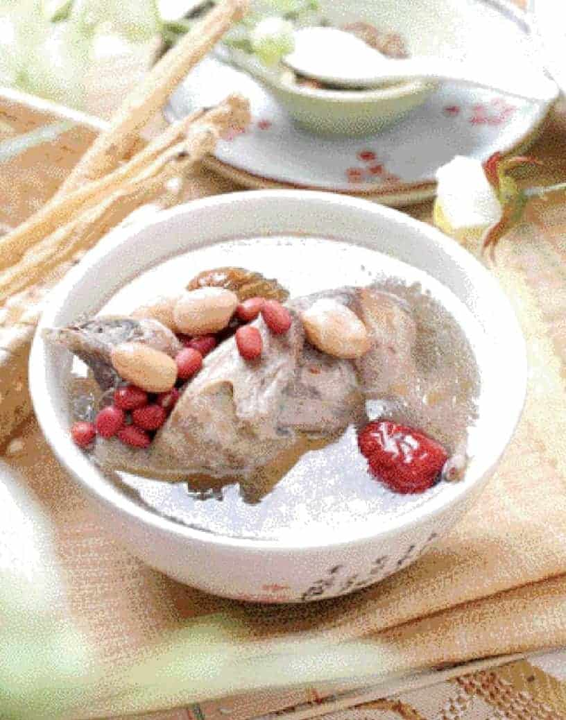 Red Bean and Peanut Quail Soup Recipe