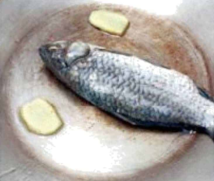 Solomon Seal and Adenophora Stricta Fish Soup Recipe step2