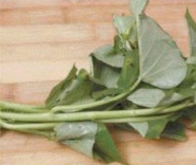 Sweet Potato Leaves Fish Soup Recipe step1