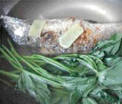 Sweet Potato Leaves Fish Soup Recipe step3