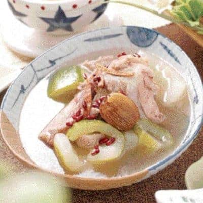 Cucumber Pork Bone Soup Recipe
