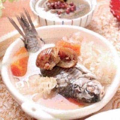 Pawpaw Carp Fish Soup Recipe