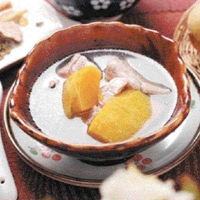 Pumpkin Pork Ham Soup Recipe