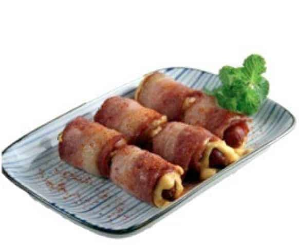 Bacon and Cheese with Smoked SausageRecipe