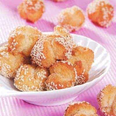 Butter Flavour Fried Sesame Ball Recipe