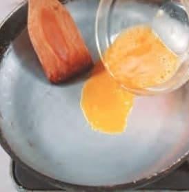 Char Siu and Chitterlings Egg Cake Recipe step2