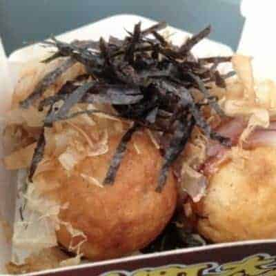 Cheese Bacon and Smoked Sausage Takoyaki Recipe