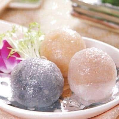 Colourful Sweet Steamed Stuffed Bun Recipe
