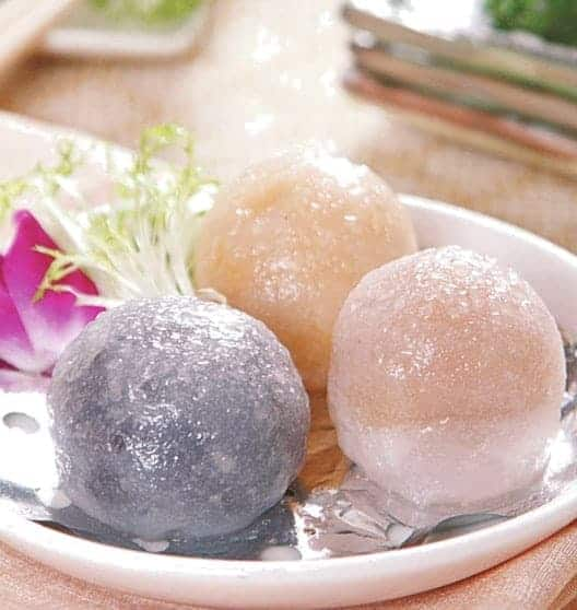 Colourful Sweet Steamed Stuffed Bun Recipe