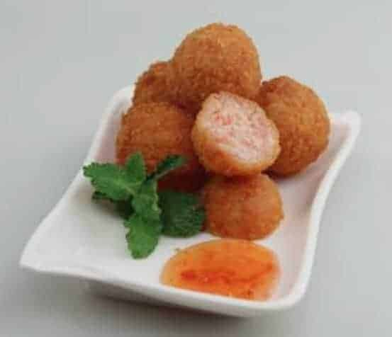 Fried Shrimp and Crab Meat Ball Recipe step4