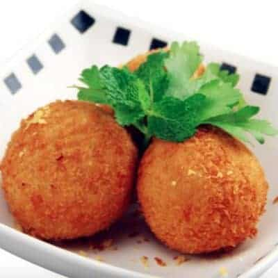 Fried Tuna and Potato Ball Recipe