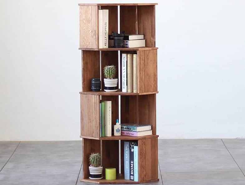 How to Choose the Best Corner Bookcase