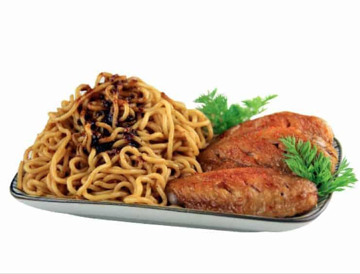 Spice Sauce Dry Noodle Recipe