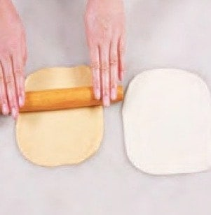 Two Colourful Steamed Bun Recipe step5