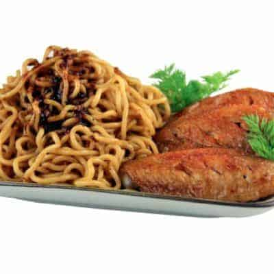 XO Oyster Sauce Dry Noodle Recipe