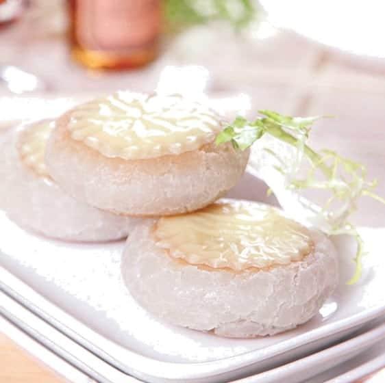 Cheese and Bean Paste Round Cake Recipe