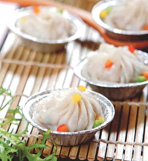 Colourful Steamed Pork Buns Recipe