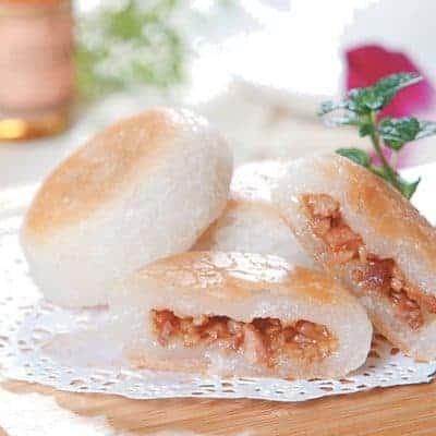 Fragrant Fried Char Siu Round Cake Recipe