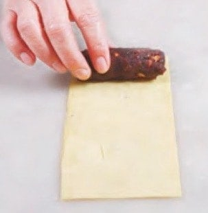 Fried Bean Paste Sping Roll Recipe step4