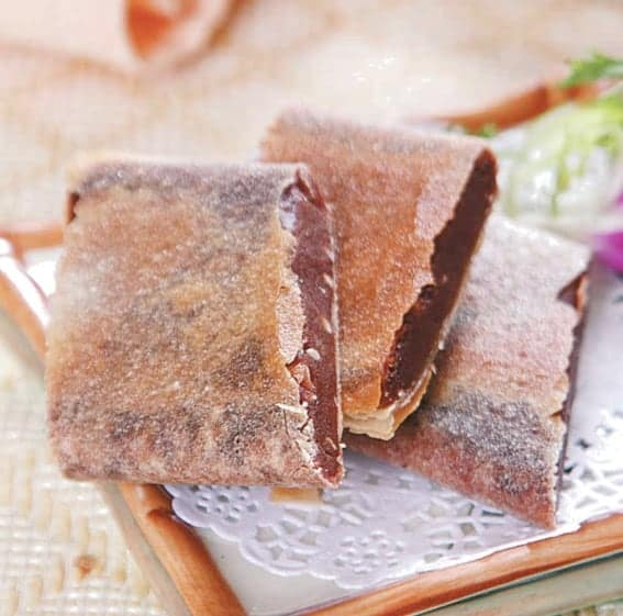 Fried Bean Paste Sping Roll Recipe