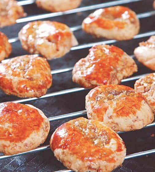 Mini Chewy Cookies (JiZaiBing) Recipe
