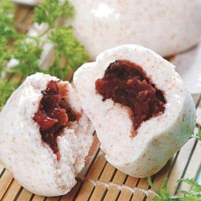 Oat and Bean Paste Bun Recipe