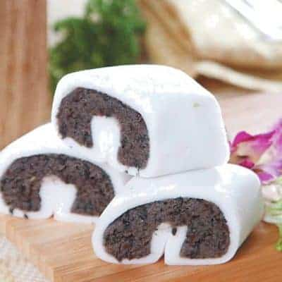 Sesame Paste Glutinous Rice Roll Recipe