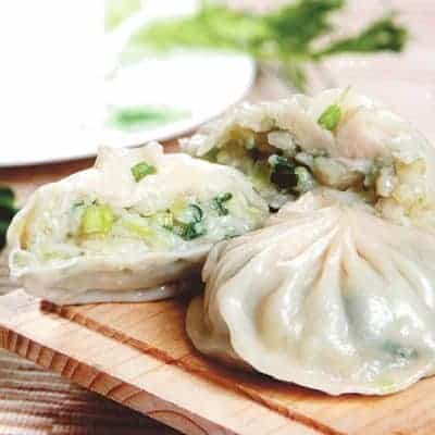 Steamed Coriander Bun Recipe