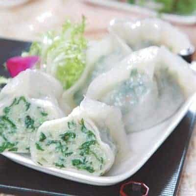 Steamed Leeks and Pork Dumpling Recipe