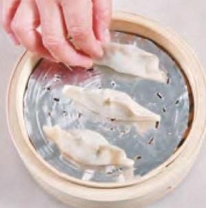 Steamed Leeks and Pork Dumpling Recipe step8