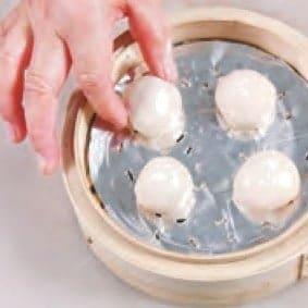 Steamed Lotus Paste Bun Recipe step8
