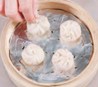 Steamed Sausage and Pork Buns Recipe step10