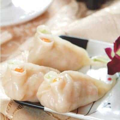 Sweet Corn Flavour Vegetable Pork Dumpling Recipe