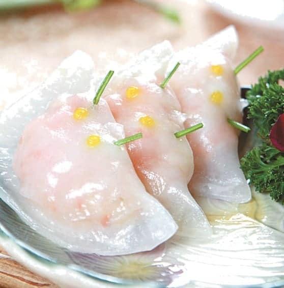 Coriander Flavour Shrimp Dumpling Recipe