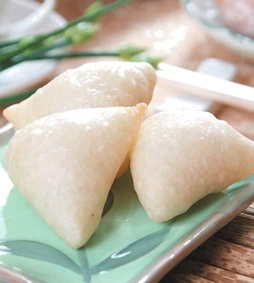Fried Crispy Skin Bean Paste Dumpling Recipe