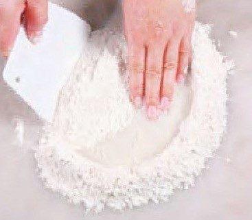 Fried Lotus Paste Sesame Pie Recipe step2