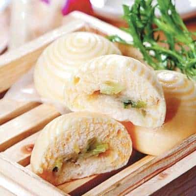 Green Onion Bread Roll Recipe