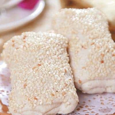 Lotus Paste White Sesame Pastry Recipe
