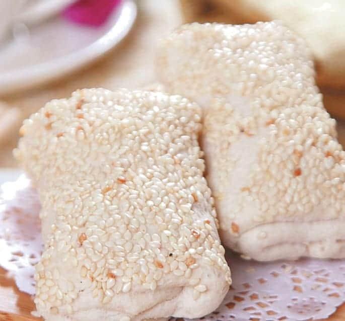 Lotus Paste White Sesame Pastry Recipe