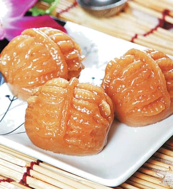 Nut Shape Sesame Paste Bun Recipe