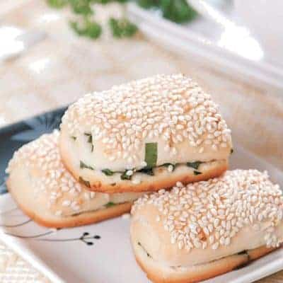 White Sesame Pastry Recipe