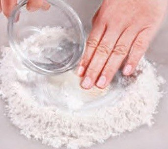 White Sesame Pastry Recipe step1