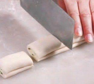 White Sesame Pastry Recipe step8