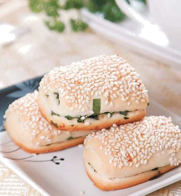 White Sesame Pastry Recipe