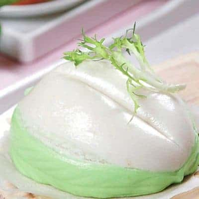 Easy Steamed Lotus Paste Bun Recipe