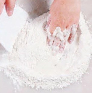 Easy Steamed Lotus Paste Bun Recipe step2