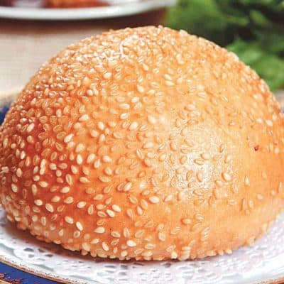 Fried Sesame Cake Recipe