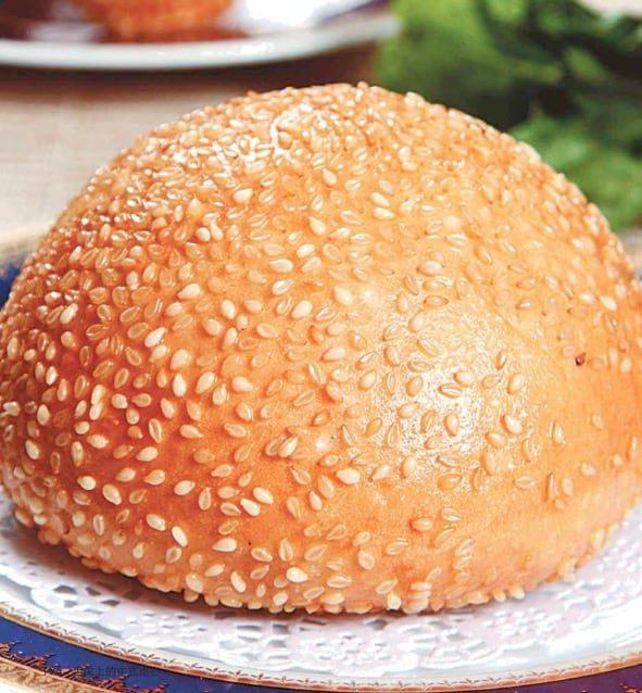 Fried Sesame Cake Recipe
