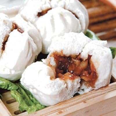 Oyster Flavour Steamed Char Siu Bun Recipe